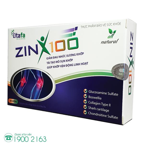 XƯƠNG KHỚP ZINX100
